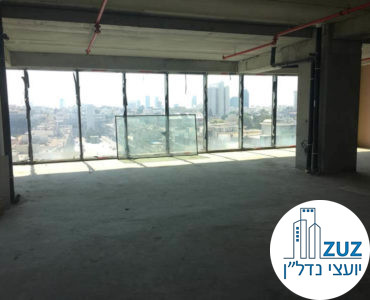 משרד ברמת מעטפת במגדלי הארבעה תל אביב