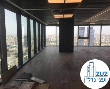 אופן ספייס במשרד במגדלי הארבעה תל אביב