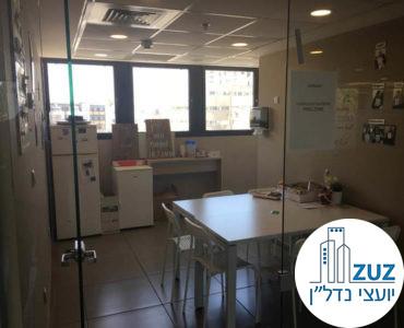 מטבחון במשרד ברחוב טיומקין תל אביב