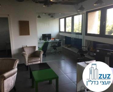 פינת כניסה מרוהטת במשרד במתחם רוטשילד תל אביב