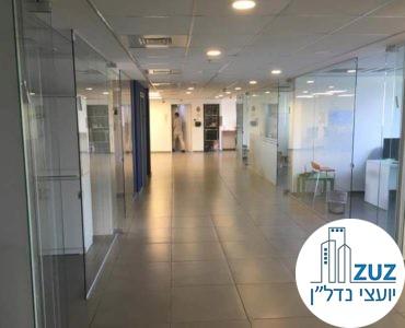 מסדרון במשרד ברחוב טיומקין תל אביב