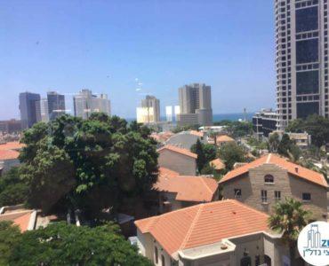 נוף ממשרד במגדל מאיר תל אביב