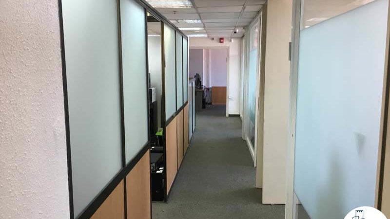 מסדרון במשרד במגדל כלבו שלום תל אביב