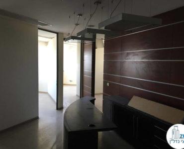 עמדת קבלה במשרד במגדל נצבא תל אביב
