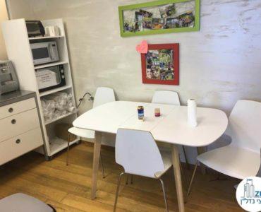 פינת אוכל במשרד במגדל סונול תל אביב