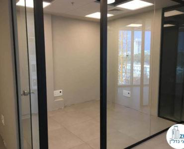 חדר ישיבות במשרד במגדל WE תל אביב