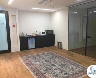 מטבחון במשרד במגדל מידטאון תל אביב