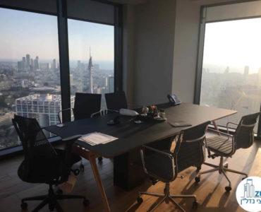 חדר פינתי במשרד במגדל מידטאון תל אביב