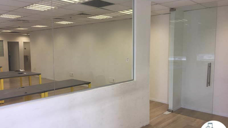 חדר ישיבות במשרד במגדל שלום מאיר תל אביב