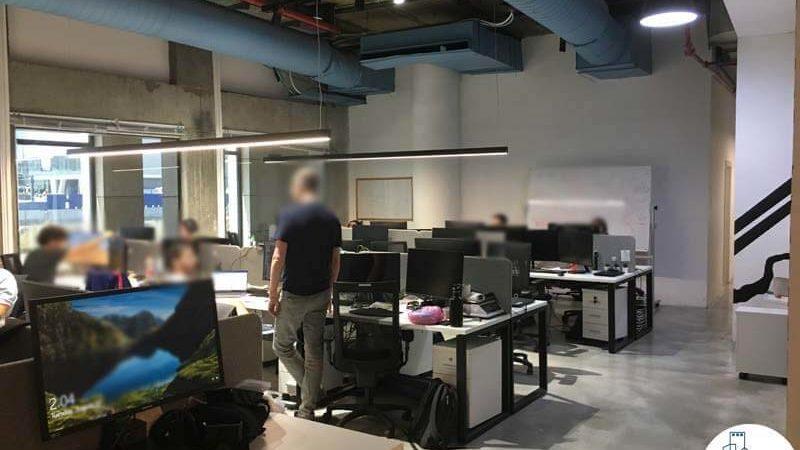 אופן ספייס במשרד ליד רכבת השלום תל אביב
