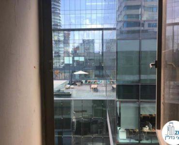 נוף מחלון במשרד ברחוב החשמונאים תל אביב