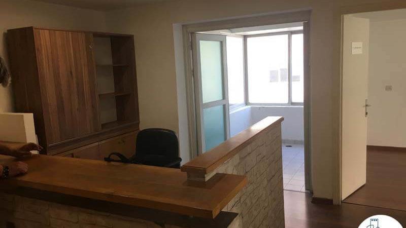 עמדת קבלה במשרד ברחוב התעשייה תל אביב