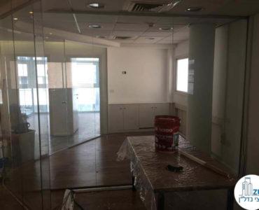 חדר ישיבות במשרד ברחוב התעשייה תל אביב