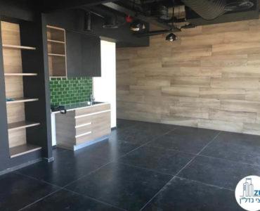 מטבחון וארונות במשרד במגדלי הארבעה תל אביב