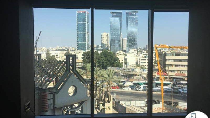 נוף במשרד במגדלי הארבעה תל אביב