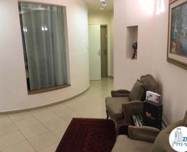 מסדרון במשרד במגדל לוינשטיין תל אביב