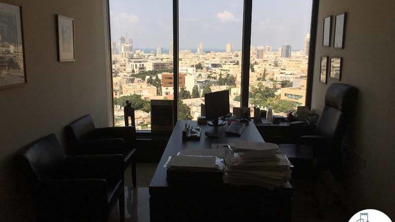חדר במשרד במגדל לוינשטיין תל אביב