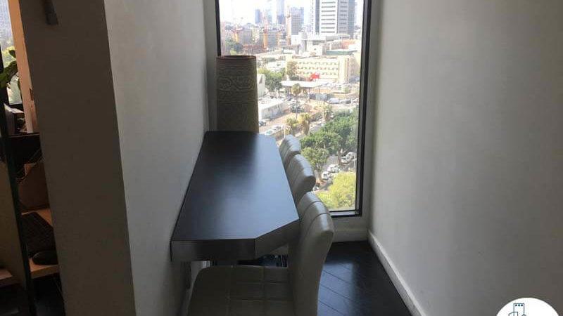 פינת אוכל במשרד להשכרה לעורכי דין בתל אביב