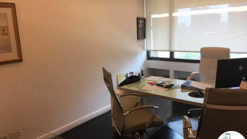 חדר מנהלים במשרד להשכרה לעורכי דין בתל אביב