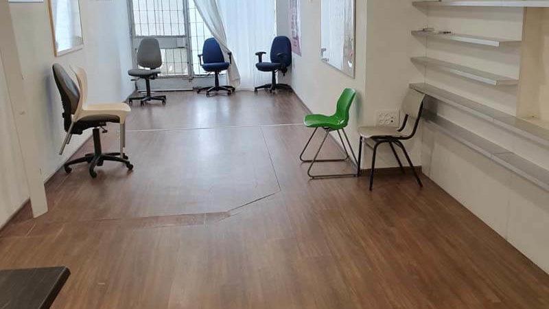 אופן ספייס במשרד ברחוב הנציב תל אביב