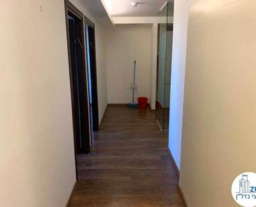 מסדרון במשרד להשכרה במגדל דניאל פריש תל אביב