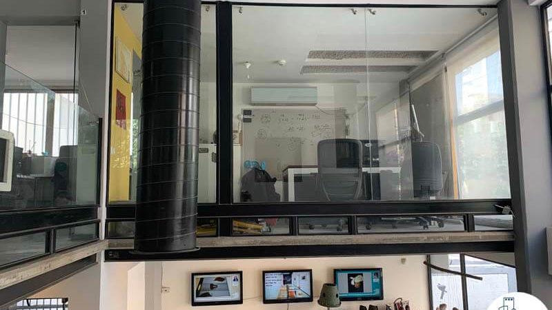 חדר מנהלים במשרד להשכרה בשכונת מונטיפיורי תל אביב