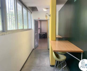 מסדרון במשרד להשכרה בשכונת מונטיפיורי תל אביב