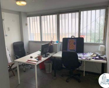 חדר עבודה במשרד להשכרה בשכונת מונטיפיורי תל אביב
