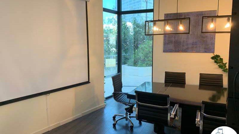 חדר ישיבות במשרד להשכרה בתל אביב