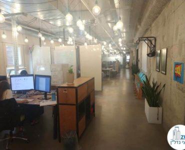 עמדת עבודה במשרד להשכרה במתחם שרונה תל אביב
