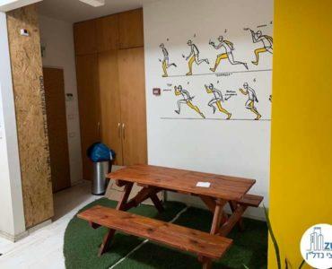 פינת אוכל במשרד להשכרה במתחם רוטשילד תל אביב