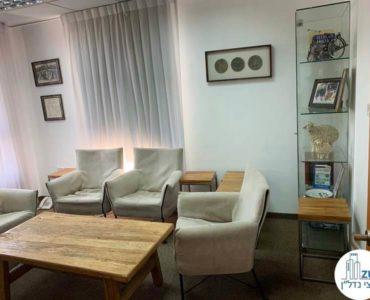חדר מנוחה במשרד להשכרה במתחם רוטשילד תל אביב