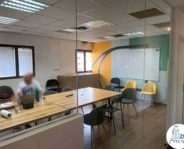 חדר ישיבות במשרד להשכרה בשדרות רוטשילד תל אביב