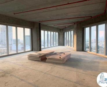 משרד ברמת מעטפת למכירה במגדל WE תל אביב