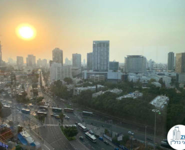 נוף במשרד למכירה במגדל WE תל אביב