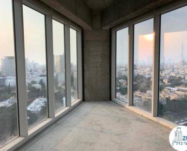 נוף פנורמי במשרד למכירה במגדל WE תל אביב