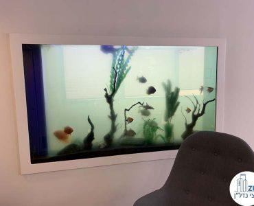 אקווריום במשרד להשכרה ליד עזריאלי תל אביב