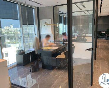 חדר במשרד להשכרה במגדל WE תל אביב