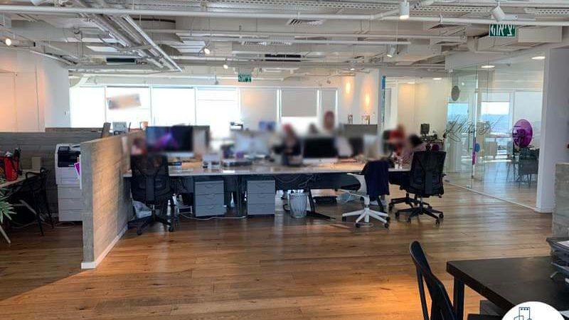 אופן ספייס במשרד להשכרה באלקטרה סיטי תל אביב