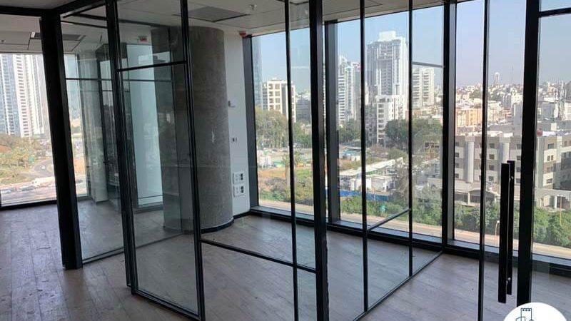 חדרים של משרד להשכרה במגדל רסיטל תל אביב