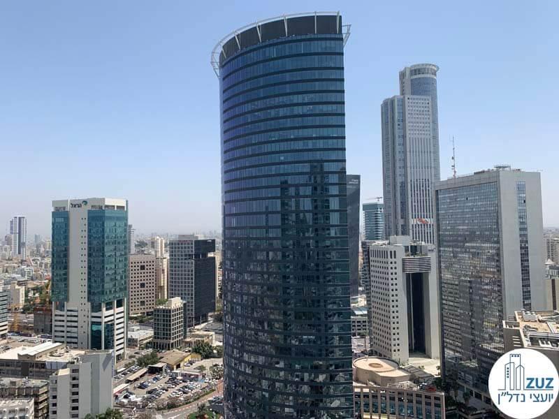 משרדים להשכרה במתחם הבורסה במגדל ספיר