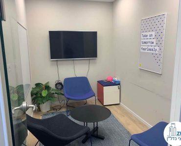 חדר מנוחה של משרד להשכרה במגדל מידטאון תל אביב