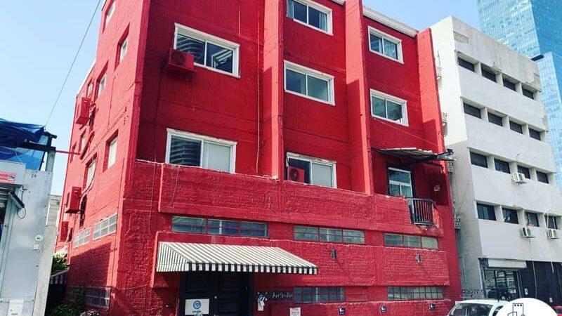 הבית האדום, רחוב יקנעם 3 תל אביב