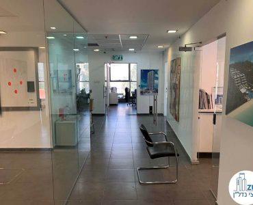 מסדרון של משרד להשכרה בשדרות רוטשילד תל אביב