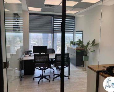 חדר של קליניקה להשכרה במגדלי הארבעה תל אביב