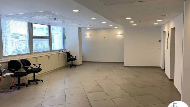 רחבת כניסה של משרד להשכרה במתחם רוטשילד תל אביב