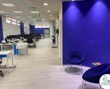 אופן ספייס של משרד להשכרה במתחם הבורסה רמת גן