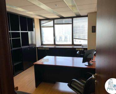 חדר עבודה של משרד להשכרה במגדל דניאל פריש תל אביב