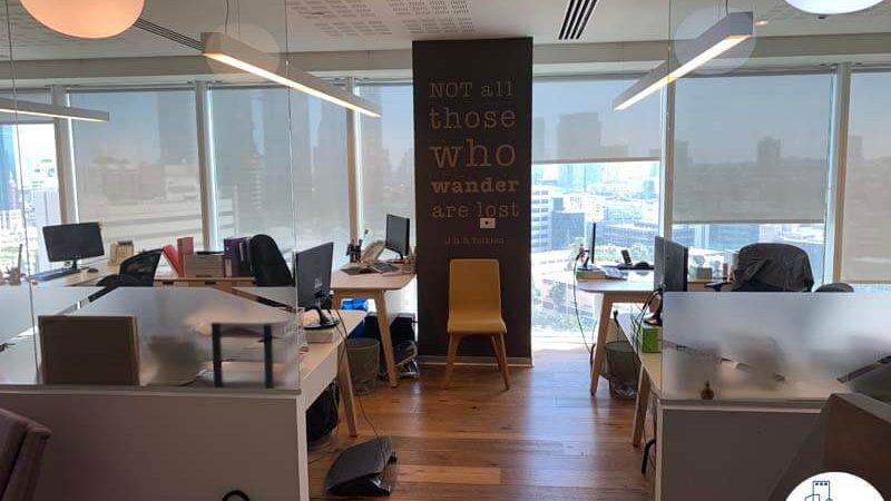 אופן ספייס של משרד להשכרה במגדל אלקטרה סיטי תל אביב