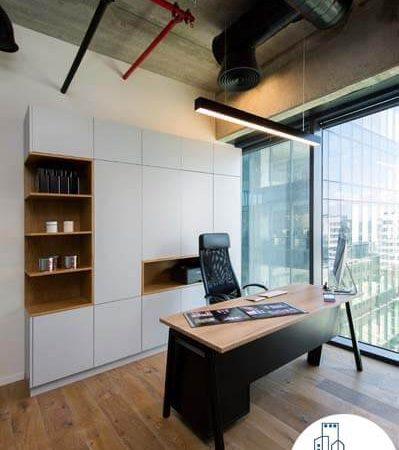 חדר מנהלים של משרד להשכרה במגדלי הארבעה תל אביב